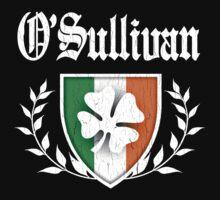 O'Sullivan Family Shamrock Crest (vintage distressed) One Piece - Long Sleeve