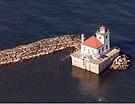 Oswego Harbor Light by wolftinz