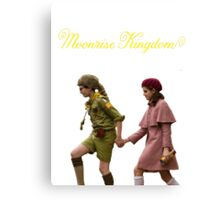 Moonrise Kingdom- Sam and Suzy Canvas Print