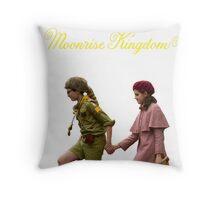 Moonrise Kingdom- Sam and Suzy Throw Pillow