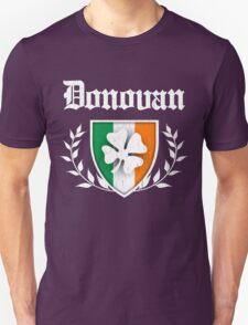 Donovan Family Shamrock Crest (vintage distressed) Unisex T-Shirt