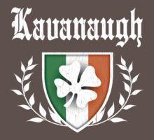 Kavanaugh Family Shamrock Crest (vintage distressed) Kids Clothes
