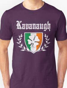 Kavanaugh Family Shamrock Crest (vintage distressed) Unisex T-Shirt