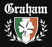 Graham Family Shamrock Crest (vintage distressed) Kids Clothes