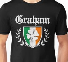 Graham Family Shamrock Crest (vintage distressed) Unisex T-Shirt
