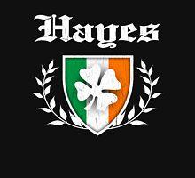 Hayes Family Shamrock Crest (vintage distressed) Unisex T-Shirt