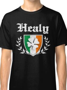 Healy Family Shamrock Crest (vintage distressed) Classic T-Shirt