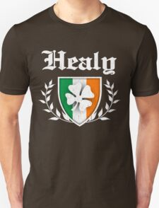 Healy Family Shamrock Crest (vintage distressed) T-Shirt