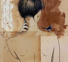 the pilgrim by Loui  Jover