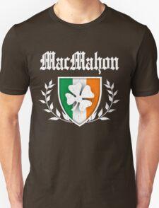 MacMahon Family Shamrock Crest (vintage distressed) T-Shirt