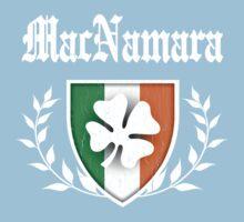 MacNamara Family Shamrock Crest (vintage distressed) One Piece - Short Sleeve
