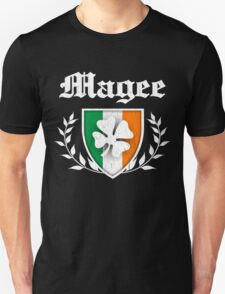 Magee Family Shamrock Crest (vintage distressed) T-Shirt