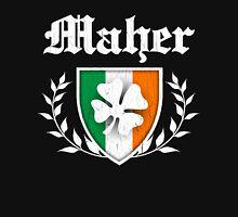 Maher Family Shamrock Crest (vintage distressed) Unisex T-Shirt