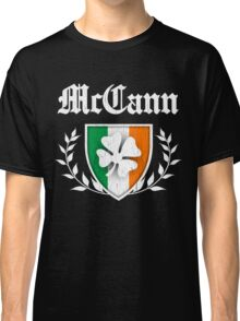 McCann Family Shamrock Crest (vintage distressed) Classic T-Shirt
