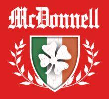 McDonnell Family Shamrock Crest (vintage distressed) One Piece - Short Sleeve