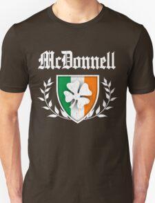 McDonnell Family Shamrock Crest (vintage distressed) T-Shirt