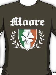 Moore Family Shamrock Crest (vintage distressed) T-Shirt