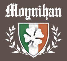 Moynihan Family Shamrock Crest (vintage distressed) Kids Clothes