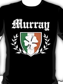 Murray Family Shamrock Crest (vintage distressed) T-Shirt