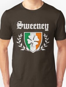 Sweeney Family Shamrock Crest (vintage distressed) T-Shirt