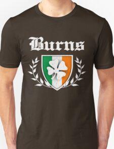 Burns Family Shamrock Crest (vintage distressed) T-Shirt