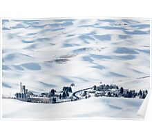 Winter in Palouse Poster