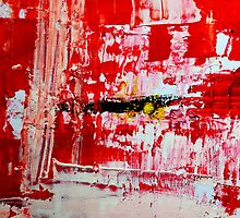 Protection - Abstract Painting by andreaanderegg
