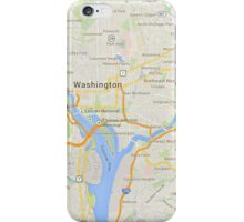 maps: washington iPhone Case/Skin