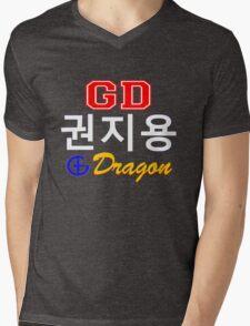 ♥♫Big Bang G-Dragon Cool K-Pop GD Clothing & Cases & Stickers & Bags & Home Decor & Stationary♪♥ Mens V-Neck T-Shirt