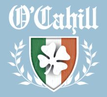 O'Cahill Family Shamrock Crest (vintage distressed) One Piece - Short Sleeve