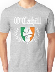 O'Cahill Family Shamrock Crest (vintage distressed) Unisex T-Shirt