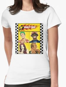 Crazy Taxi Womens Fitted T-Shirt