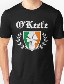 O'Keefe Family Shamrock Crest (vintage distressed) T-Shirt