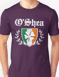 O'Shea Family Shamrock Crest (vintage distressed) Unisex T-Shirt