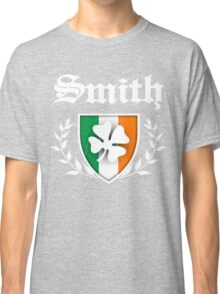 Smith Family Shamrock Crest (vintage distressed) Classic T-Shirt
