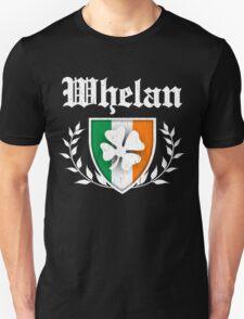 Whelan Family Shamrock Crest (vintage distressed) Unisex T-Shirt