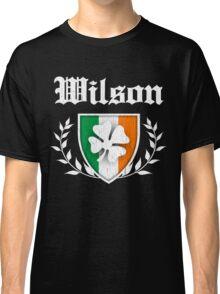 Wilson Family Shamrock Crest (vintage distressed) Classic T-Shirt