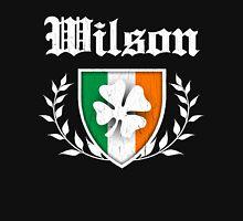 Wilson Family Shamrock Crest (vintage distressed) Unisex T-Shirt