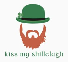 Irish Humor Kiss My Shillelagh by Brenda Hopkins