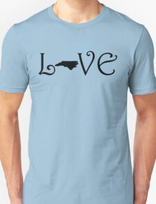 NORTH CAROLINA LOVE Unisex T-Shirt