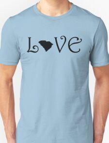 SOUTH CAROLINA LOVE Unisex T-Shirt