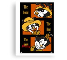 The Good, The Bad, & The Pretty Canvas Print