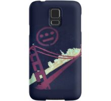 Stencil Golden Gate San Francisco Samsung Galaxy Case/Skin