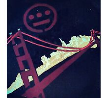 Stencil Golden Gate San Francisco Photographic Print