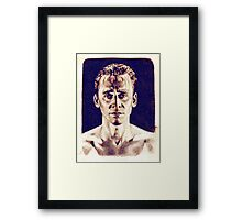 """Oh me alone, make you a sword of me?"" Framed Print"