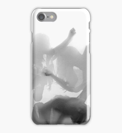 Group of contemporary dancers performing on stage  iPhone Case/Skin