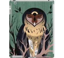 Wooden Owl iPad Case/Skin
