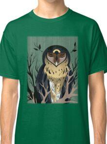 Wooden Owl Classic T-Shirt