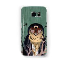 Wooden Owl Samsung Galaxy Case/Skin