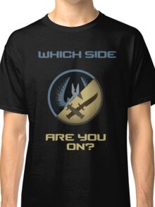 CSGO-Which side are you on?-Slanted Classic T-Shirt
